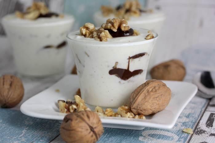Walnuss-Quark-Dessert low carb-lowcarb-Rezept-Walnuss-abnehmen-Protein