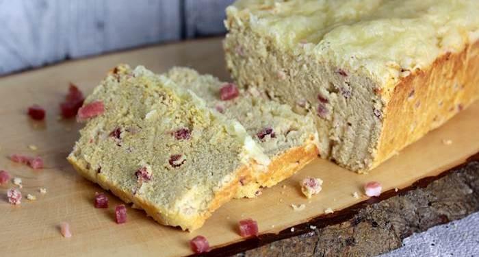 Schinken-Käse-Brot low carb-Rezept-Genuss-abnehmen