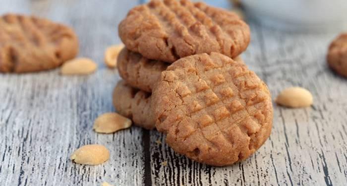 Low Carb Ernussbutter Kekse-Peanut Butter Cookies-lowcarb-Rezept