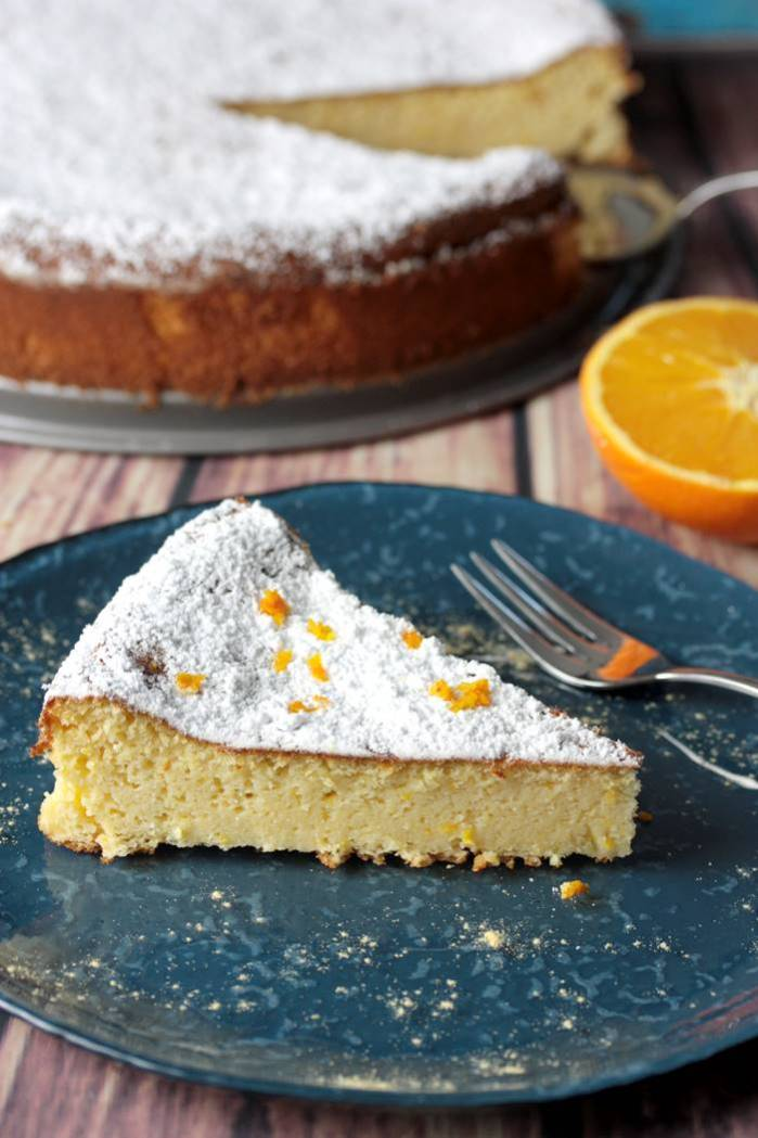 Orangenkuchen Low Carb Rezept mit Vanille