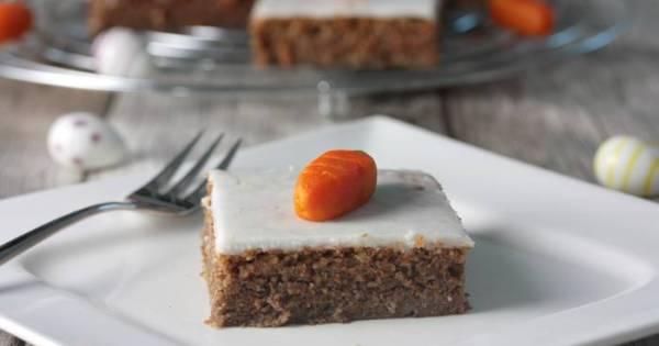 Low Carb Rübli Kuchen-Rüblikuchen-Ostern-Rezept