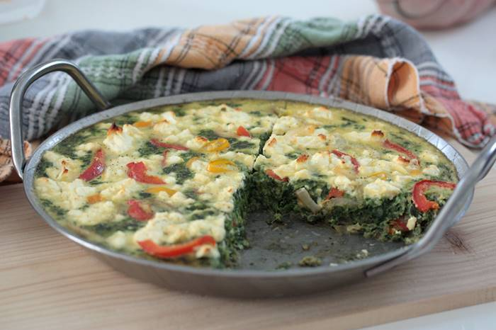 Low Carb Spinat Frittata-Frittata-Rezept-gesund-LCHF