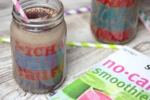 Schoko Erdnuss Shake-low carb-no carb smoothies