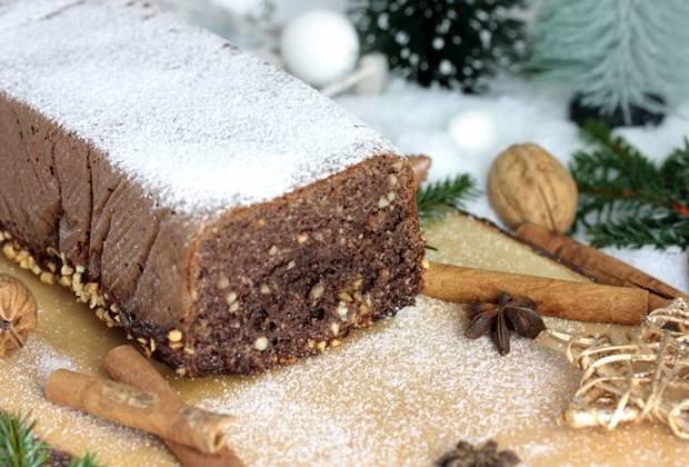 Gewürzkuchen-low carb-lowcarb Kuchen-Lebkuchenkuchen