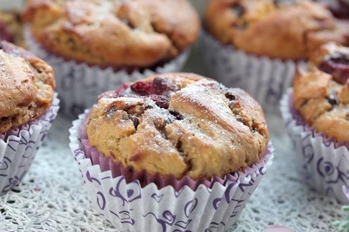 Low Carb Kirsch Schoko Muffin-lowcarb Muffin Rezept
