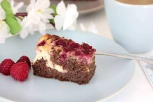 Schoko Cheesecake Brownies-Low Carb Brownies-Rezept-lowcarb