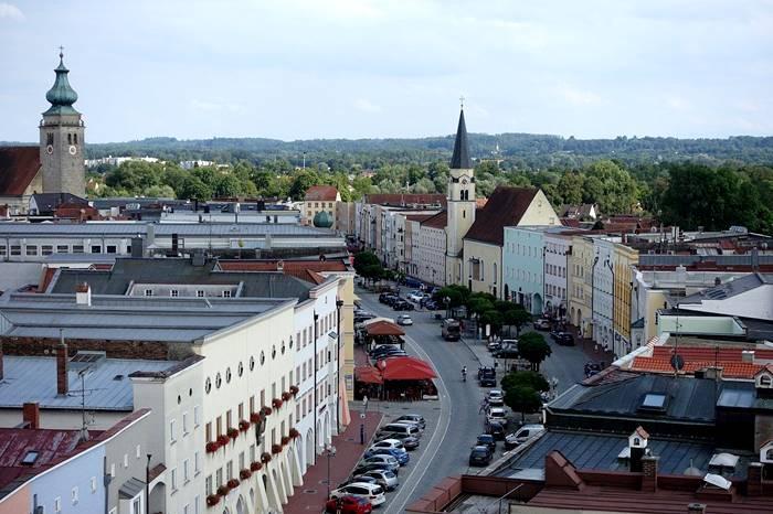 Lockerungen nach Corona-Mühldorf Stadtplatz