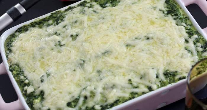 Low Carb Spargel Spinat Lasagne-Spargel Lasagne-low carb Rezept