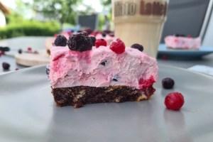 Marmor Waldfrucht Torte-Low Carb Torte-Rezept