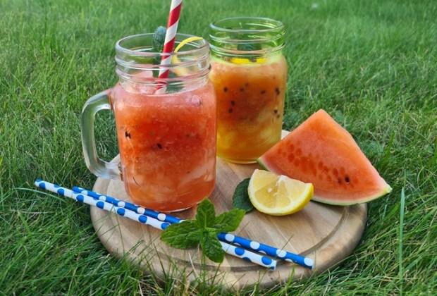 Wassermelonen Slush-Low Carb Slush