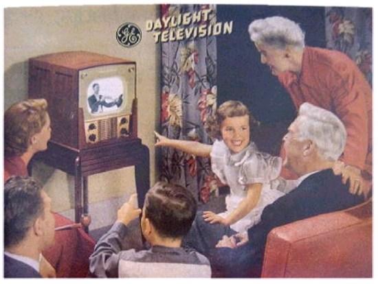 Famiglia americana anni '50