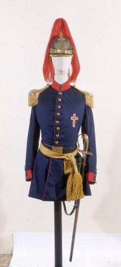 Uniforme della Guardia Civica pontificia  Storia e