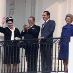 Tito con Nixon alla Casa Bianca, 1971