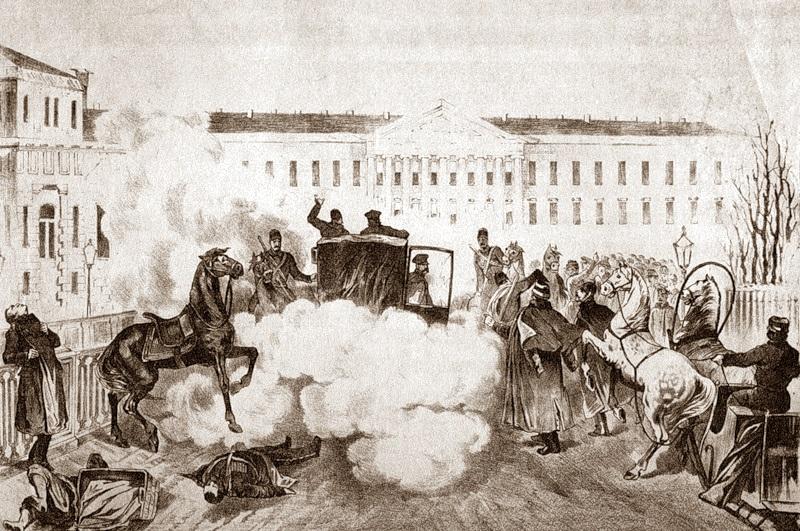Risultati immagini per Assassinio dello zar - Immagini
