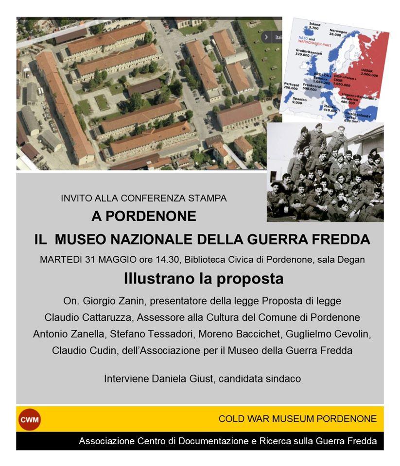 Conferenza: A Pordenone il museo nazionale della guerra fredda
