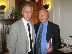 Di Carlo con Paolo Mieli