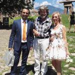 Ciro, Anna e Reinhold Messner