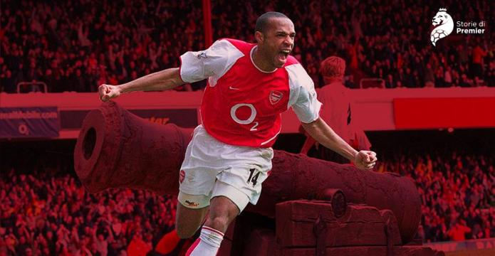 Thierry Henry, l'oro di Londra