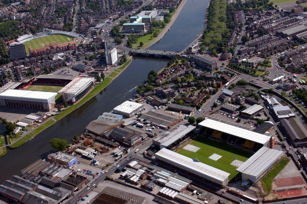 Benvenuti a Nottingham: dove il fiume Trent divide il Notts County dal Nottingham Forest