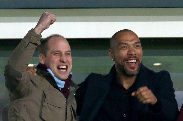 """William, il principe """"ribelle"""" tifosissimo dell'Aston Villa"""