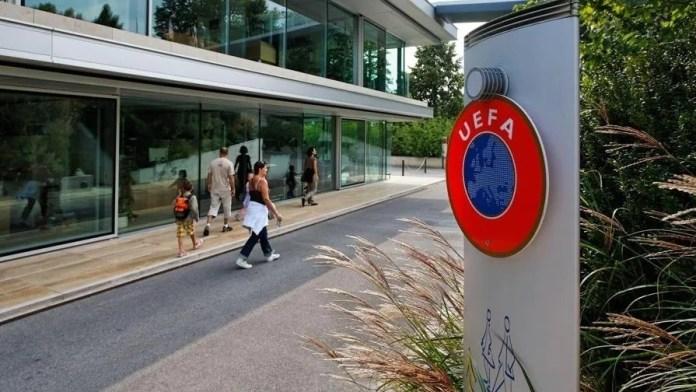 La sede dell'Uefa a Nyon