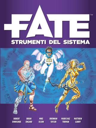 Fate GDR Cover Strumenti del Sistema