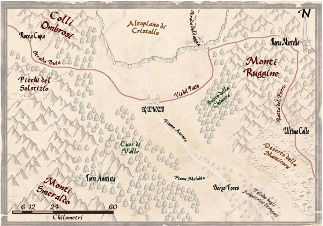 Mappa ambientazione 5e