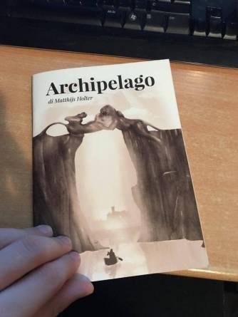 Archipelago ITA Copertina Gioco di Narrazione Matthijs Holter