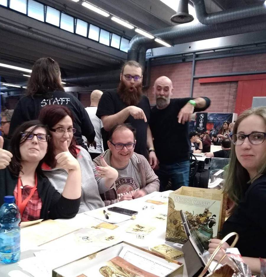 Modena Play 2018 Mouseguard