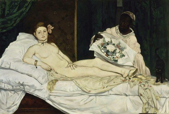 Olympia di Eduard Manet