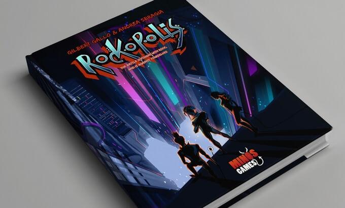 Rockopolis GDR Manuale Handbook Storie di Ruolo