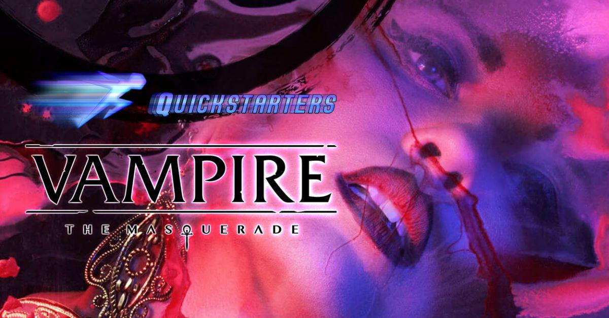 vampiri quinta edizione quickstarter cover