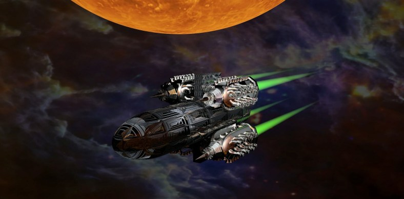 Star ship Nave Spaziale Laser & Feelings Gioco di Ruolo Storie di Ruolo 2