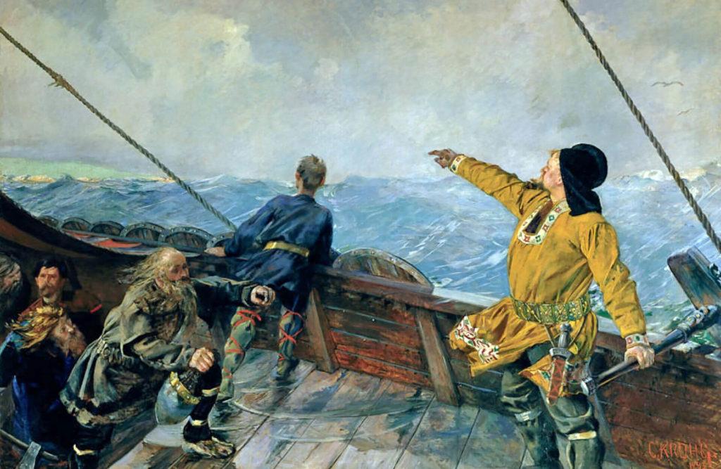 Leif Erikson avvista Vinland
