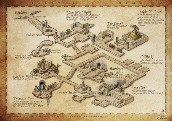 Un dungeon esemplificativo dello stile OSR