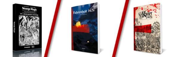 GDR da Regalare a Natale Consigli Storie di Ruolo Edoardo Strange Magic Farhenheit 1451 Kaiser 1451