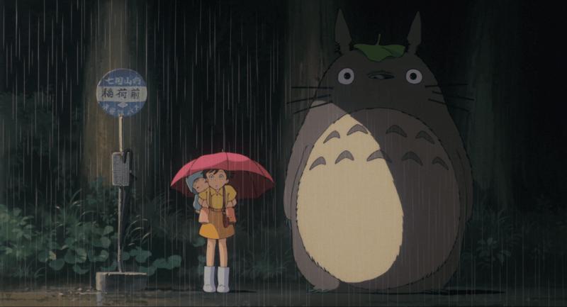 """Fotografia del film """"Il mio vicino Totoro"""""""