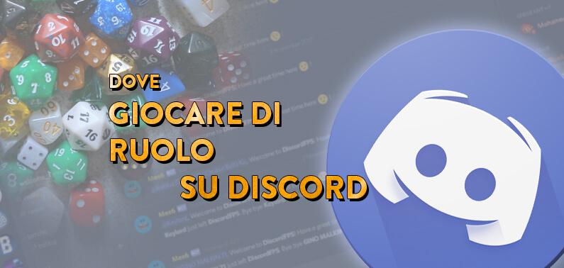 Discord Server Giochi di Ruolo GDR Storie di Ruolo Listone Server Discord2
