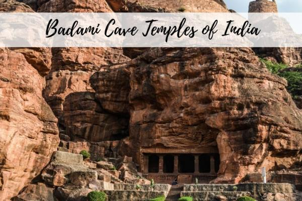 Stunning Badami Cave Temples of India