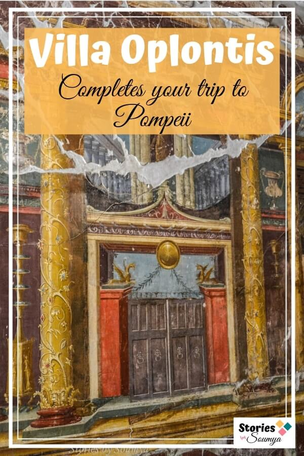 Why You Must Include Villa Oplontis In Your Pompeii Itinerary