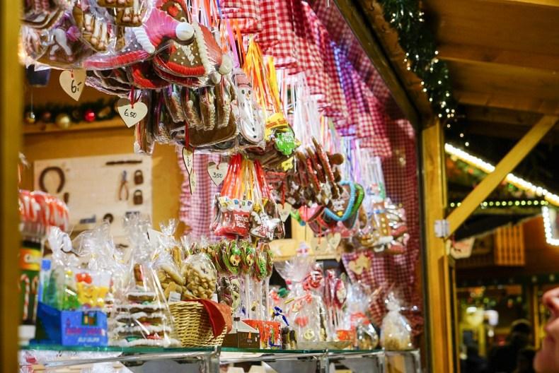 Süßes auf dem Weihnachtsmarkt