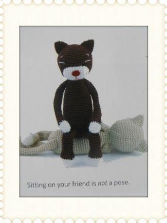Hello My Name is Amineko: The Story of a Crafty Crochet Cat