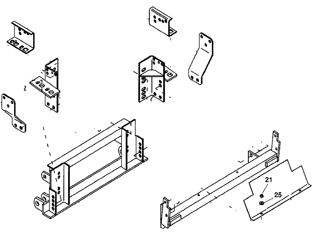 western snow plow wiring diagram chevy lennox heat pump air handler bolt bag 88 98 unimount gmc