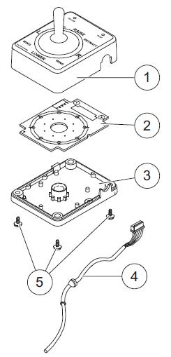 96369 Western Joystick V plow control