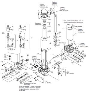 Rebuilt Meyer E47 plow pump