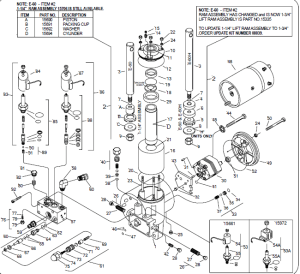 Rebuilt E60 plow pump exchange