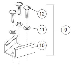Handheld control Dash mounting bracket