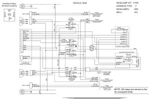 63421 Western 9 pin Unimount HB5 Headlight harness kit