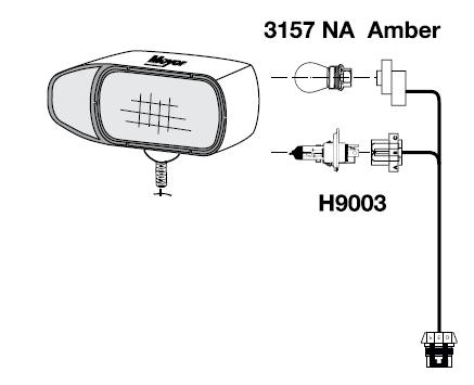 07118 headlight harness