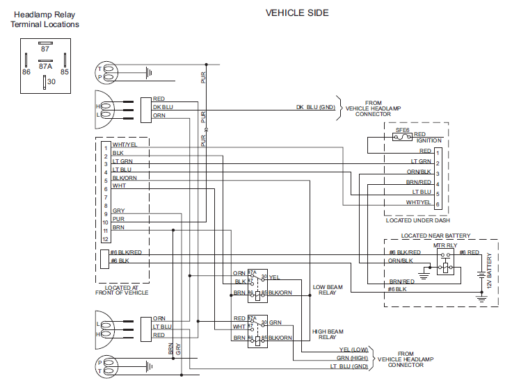 Western Plow Wiring Harness : 27 Wiring Diagram Images